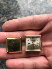 Pair Of Vintage Endura Watch Cufflinks