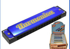 More details for harmonica ~ 16 holes in key of c ~ retro gift for young musicians ~ xmas gift