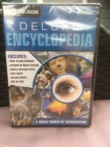 Webster's Deluxe Encyclopedia - PC CD-ROM