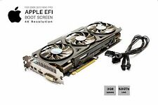  Gigabyte R9 280x OC 3GB GPU for Apple Mac Pro w/EFI, Boot screen and 4K