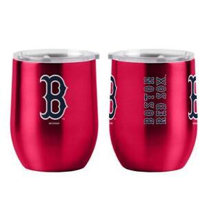 Boston Red Sox 16oz Curved Ultra Travel Tumbler [NEW] MLB Cup Mug Coffee