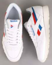 Reebok Classic Leather Trainers White/red/blue