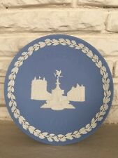 1971 Wedgwood Christmas Plate Piccadilly Circus