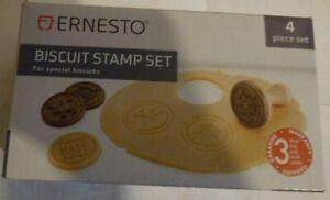 Ernesto Biscuit Stamp Set For Special Biscuits - 4 Piece set