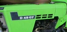 Deutz Aufkleber Motorhaube Baureihe D4507 Logo Emblem Sticker
