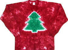 Christmas Tree Tie Dye Long Sleeve size 2XL, New, never worn! Great Fam Jams!