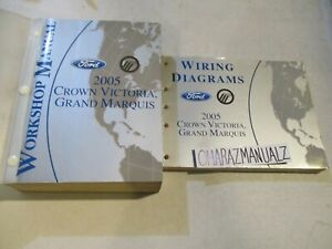 2005 FORD Crown Victoria Marquis Wiring Diagrams & Service Manuals Manual OEM