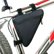 Cycling Road Bike MTB Bicycle Front Tube Bags Zipper Storage Pack Frame Bag