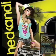 Hed Kandi: Back To Love [2013] [Digipak] by Various Artists (CD, Feb-2013, 3 Discs, Hed Kandi)