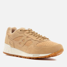 SAUCONY SHADOW 5000 tan Weave UK8 Bwnt