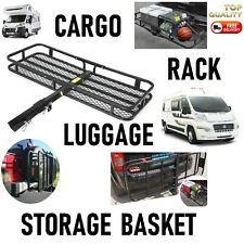 Cargo Carrier Motorhome TRUCK 4X4 Storage Rack Tow Bar Trailer Self build Camper
