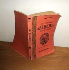 La légende d'Albert 1er avec dessin de Hergé pas tintin 1935