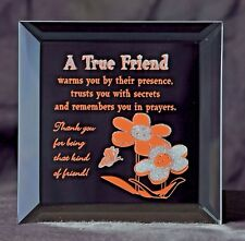 A Gift of Friendship - A Keepsake Plaque for your Friend