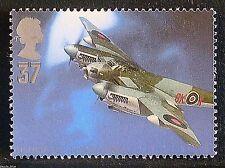 """""""De Havilland Mosquito"""" illustrated on 1997 stamp - U/M"""