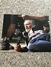 STEVEN SPIELBERG SIGNED JAWS ET DIRECTOR 8X10 PHOTO W/COA