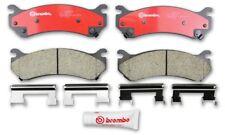 Disc Brake Pad Set-Premium NAO Ceramic OE Equivalent Pad Rear,Front Brembo