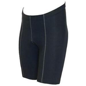 BASIK Flat Seam Mens 8 Panel Shorts Black Xx-Large
