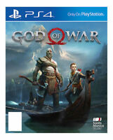 God of War Sony PlayStation 4, 2018 Mint Condition 1st Class Super Fast Delivery
