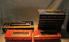 Vtg. K-LINE Diesel MP-15 Freight Engine & 6 Cars w/OBs
