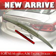 SHIP FROM LA- 2016UP FOR NISSAN MAXIMA Rear Trunk Lip Spoiler Wing A36 8th Sedan