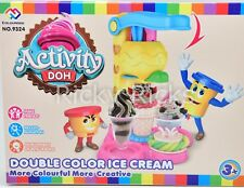 Activity Doh Play Set Cupcake Ice Cream Factory Craft Toy Modeling Clay 16 pcs