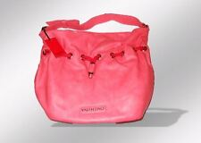 Valentino by Mario Valentino Coral Faux Leather Large Shoulder Tote Handbag New