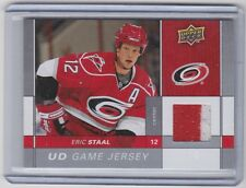09-10 2009-10 UPPER DECK SERIES ONE ERIC STAAL UD GAME 2 COLOR JERSEY GJ-ES
