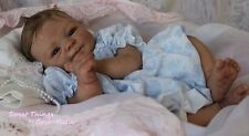 Custom Reborn Baby ~ Elisa Marx sculpt with belly plate  ~ Realistic 3d skin!