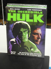 The Incredible Hulk Returns / The Trial Of The Incredible Hulk (2-DVDS) NEW!