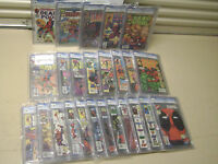 ULTIMATE DEADPOOL SET  CIRCLE CHASE 1-4, LIMITED 1-4, REG 1-69, ETC. ALL CGC 9.8