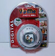 NICE VU-ME Photo Ball Digital Photo Picture Frame Baseball Store Up to 70 Photos