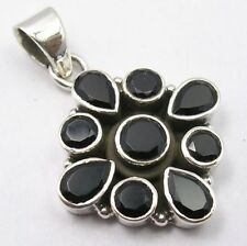 Silver Plated Onyx Fashion Pendants