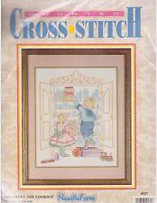 Who Stole The Cookies Cross Stitch Kit Needleform 14 Ct Aida Kids Children Play