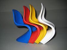 4 Verner Panton Stühle Miniatur Space Age 60s Design Miniature Furniture
