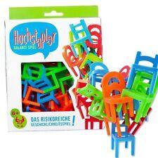 Hochstapler ~ das risikoreiche Geschicklichkeitsspiel ~ Balance-Spiel mit Stuhl