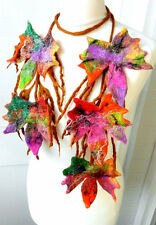 Hand Felted -ART necklace