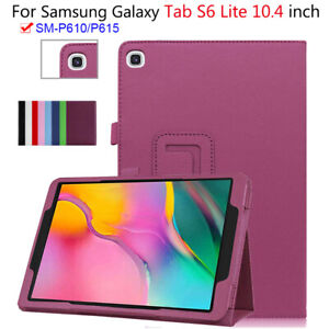 """Tablet Stand Case For Samsung Galaxy Tab S6 Lite 10.4"""" SM-P610 SM-P615 Cover"""