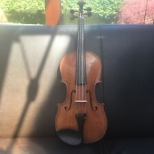 Fine 4/4 Violin (Maggini copy) circa 1910 & pernambuco bow & violin case