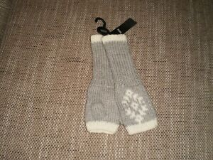 """Gloves"""" Marks&Spencer"""" Grey Mix Aspen Colour Size: One Size New With Tags"""