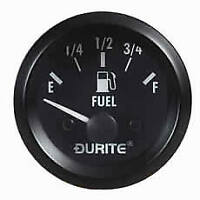 Durite 24V Illuminated 52mm Fuel Gauge 0-523-56
