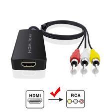HDMI to Audio Video Converter HDMI to RCA Converter for Amazon Fire Stick HDMI