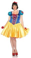Leg Avenue Disney Plus-Size 2Pc. Classic Snow White Costume Dress And Bow Head