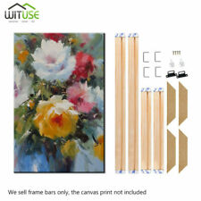 Canvas Stretcher Frames Bars Wooden Strips Kits for Art Paintings Multiple Sizes