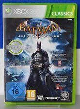 Batman: Arkham Asylum Classics Xbox 360 muy bien en OVP y guía juego de combate
