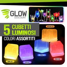 CUBETTI GHIACCIO FLUO LUMINOSO MIX glow starlight braccialetti luminosi 15021