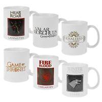 Official Game of Thrones Mug Stark Lanister Targaryen Khaleesi Valar Morghulis