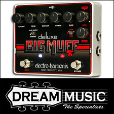 Electro Harmonix EHX Deluxe Big Muff Pi Fuzz Distortion Guitar FX Pedal RRP$309