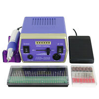 30000 RPM Professional Electric Nail Drill File Bits Machine Manicure Kit