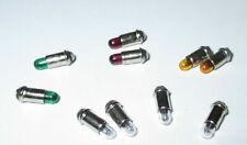 """Ersatzlampen Micro-Lämpchen 2,8x4mm klar, rot, grün, gelb - 10 Stück  """"NEU"""""""