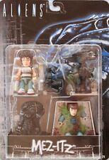 Mezco Toys Aliens Mez-Itz Figure Set Sigourney Weaver// MIB// Factory Sealed